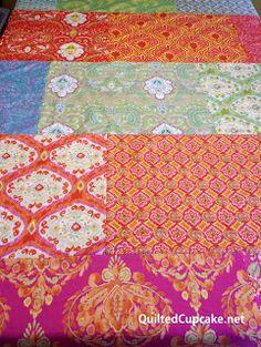 Easy DIY tablecloth tutorial Dena Designs Fat Quarter Project: Easy to sew tablecloth