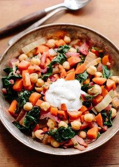 Recipe: Yotam Ottolenghi's Chickpea Sauté with Greek Yogurt — Recipes from The Kitchn | The Kitchn