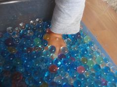 If you have yet to discover water beads, please do. amazing stuff.