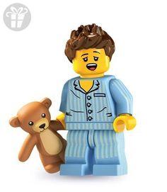LEGO 8827 Minifigures Series 6 - Minifigure Sleepyhead (Sleepy Head) x1 Loose (*Amazon Partner-Link)