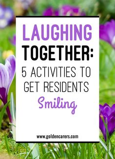 Laughing Together - Five Activities to Get Residents Smiling : Laughing together as a community is what will bring the brightest smiles to your activity. Here are five activities that encourage active participation of the whole community.