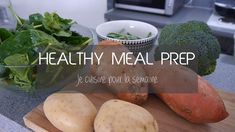 Healthy Meal Prep For The Week | Je cuisine pour la semaine | Alice Esme...