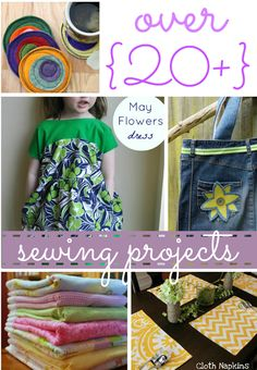 20+ Sewing Projects