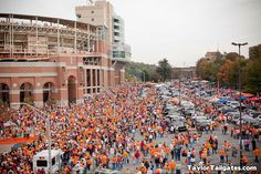 game day in knoxville!
