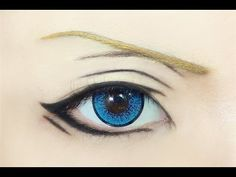 Tutorial : Anime Eye Makeup 111 • Jinguji Ren