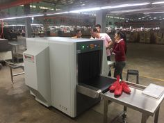 Congratulate Adidas's factory in Cambodia installs the dual-view visual needle detector from SHENZHEN DEFENSE PLUS TECHNOLOGY CO.,LTD. Walk Through Metal Detector, Scanning Machine, Security Equipment, Surveillance System, Shenzhen, Cambodia, Technology, Home, Tech