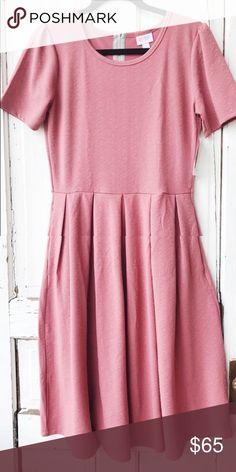 LulaRoe Amelia Size Large Blush Pink Brand new and never worn LuLaRoe Dresses