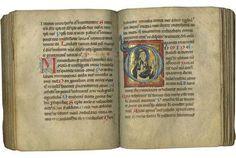 Psalter; illuminated medieval manuscript on parchment: Catholic Church