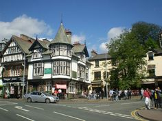 Bowness on Windermere.  Lake District.