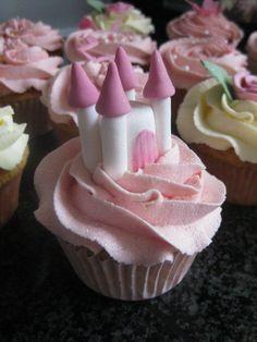 Princess Castle Cupcake
