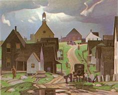 Alfred Joseph Casson ~ Canadian Group of Seven Tom Thomson, Emily Carr, Group Of Seven Artists, Group Of Seven Paintings, Canadian Painters, Canadian Artists, Landscape Art, Landscape Paintings, Landscapes