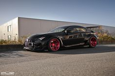 Rocket Bunny #Lexus RC F with PUR LX10.V3