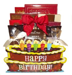Happy Birthday Gift Basket Baskets Gifts Canada