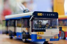 Lego Life Lego Bus, Lego Lego, Lego Vehicles, Passenger Aircraft, Lego Trains, Lego Architecture, Lego Stuff, Lego Ideas, Lego Creations