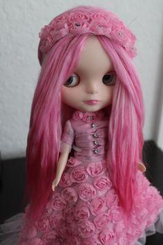Hot Pink Blythe Doll