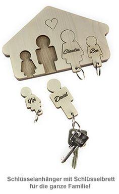 Schlüsselbrett - Familie - 2