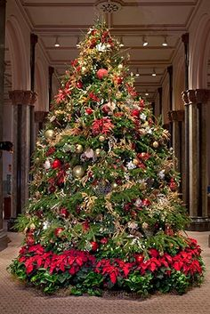 Google Image Result for http://blogs.smithsonianmag.com/aroundthemall/files/2010/12/Smithsonian-Decorations-Castle-Christmas-tree-2.jpg