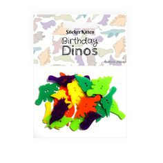 Birthday Dinos Buttons