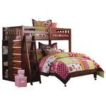 <strong>Weston Twin over Full L-Shaped Bunk Bed</strong> by Discovery World Furniture