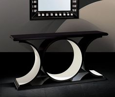 Modern Console Tables Designs can be determinant for a Modern Home Decoration. Whichever house division we talk about, such a console can make a difference. Brass Console Table, Modern Console Tables, Sofa Tables, Gold Furniture, Home Decor Furniture, Furniture Design, Consoles, Entertainment Wall Units, African Furniture