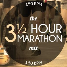 Need some music to power you through 26.2 miles? This 3 1/2 hour #marathon mix of classic rock #music is just what you're looking for. At 150 BPM, it will power you to the finish line. #running