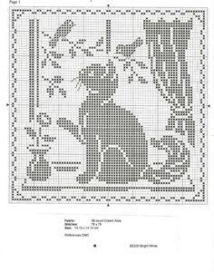 схемы котов для вышивки крестом: 19 тыс изображений найдено в Яндекс.Картинках