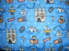 LDS A Boy's Life Flannel by Alpine Fabrics