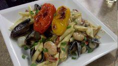 Shrimp Marigny Pasta