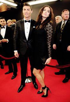 Irina Shayk and Cristiano Ronaldo :)