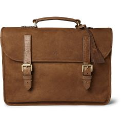 9763e9f26b5 Mulberry Elkington Brushed-Leather Briefcase | MR PORTER Briefcase For Men,  Leather Briefcase,