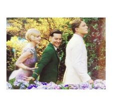 Daisy, nick, and Gatsby