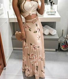 Floral Print Pleated Maxi Skirts Autumn fashion Hoodie dress fashion Bodycon dress Fashion outfits Clothes for women Fashion dresses Knee length dresses Spaghetti strap Night Outfits, Spring Outfits, Cool Outfits, Casual Outfits, Holiday Outfits, Skirt Outfits, Dress Skirt, Dress Up, Bodycon Dress