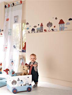 44 #pegatinas para la #habitación de tu bebé