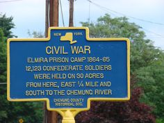 For those who perished at the Union Camp/Elmira, known by the Southern heroes who were deliberately made to suffer and die there, as HELLMIRA