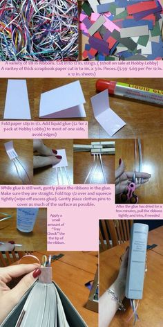 Ribbon bookmarks for the bible.