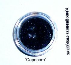 Capricorn Mineral Eyeshadow by MGCosmetics on Etsy, AMAZING color with just enough glitter!