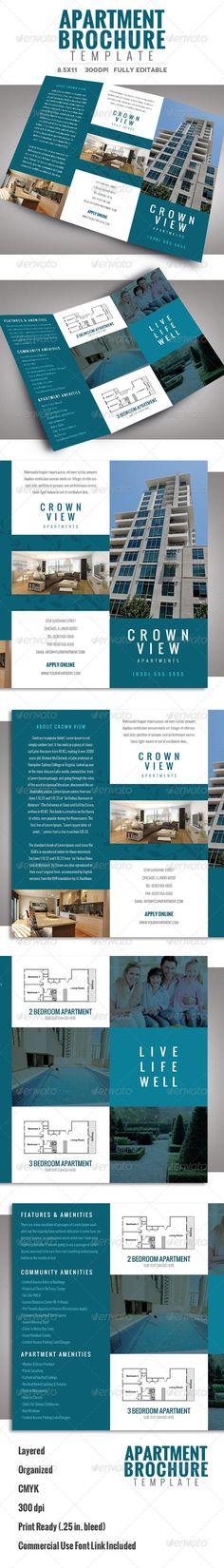 Apartment Brochure Design Stunning Decorating Design