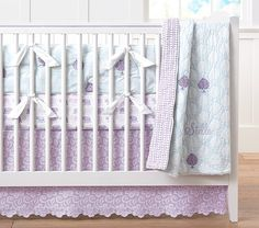 It's a BABY BEDDING SALE! Save 20-40% on all nursery bedding like this cute Stella Nursery Bedding!