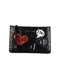 Love Moschino Clutch Bag (US Only) - Fashion Women Men Casual Classy Trends Summer Autumn Winter Spring Fall Outfit Monochromatic Black Clutch Bags, Leather Clutch Bags, Clutch Purse, Clutch Handbags, Oasis Bags, Moschino Bag, Brown Crossbody Bag, Designer Clutch, Spring And Fall