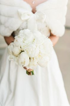 Sweet Winter Wedding Post from Style Me Pretty