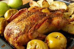 Смак з дитинства: Утка с яблоками в духовке два очень вкусних рецепта!!!