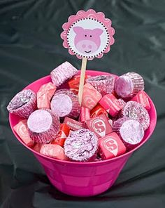 Pig Party assorted candy