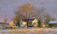 John Pototschnik Another Snow Coming JPfb Paintings I Love, Beautiful Paintings, Pastel Paintings, Abstract Landscape, Landscape Paintings, Nature Paintings, Wild Animals Photography, Cottage Art, Principles Of Art