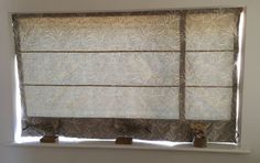 Balance the blind - Sew-Helpful Blog - How we don't make our blinds