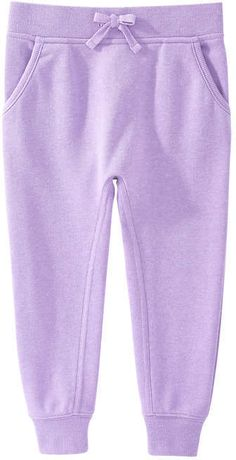 Joe Fresh Toddler Girls' Sweatpant, Light Neon Purple (Size 3)