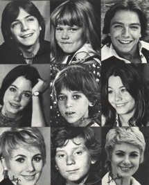 The Partridge Family photos....okay this was off the air before I was born, but I still loved watching it in syndication!