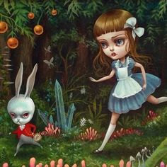 ALICE IN WONDERLAND BY MAB GRAVES