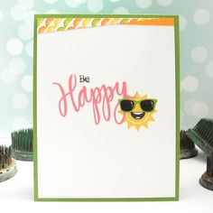Created by Jingle using the June 2015 card kit by Simon Says Stamp.