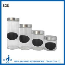 Glass Jar with Screw-cap, Glass Jar with Screw-cap direct from Zibo Jiachang International Trade Co., Ltd. Screw Caps, International Trade, Glass Jars, Glass Pitchers, Glass Bottles