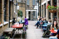 J+A Cafe in Clerkenwell, London